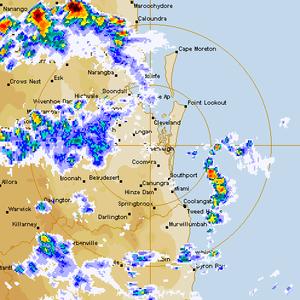 Brisbane Smashed by Violent Supercell Storm 27th November 2014