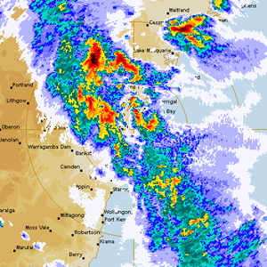 Severe Storms Sydney, Newcastle and NE NSW 5th November 2014