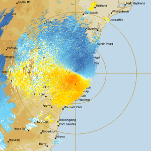 Severe Storms in Sydney Structured Supercells 16th September 2014