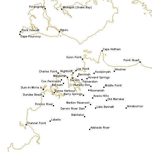 Radar locations image