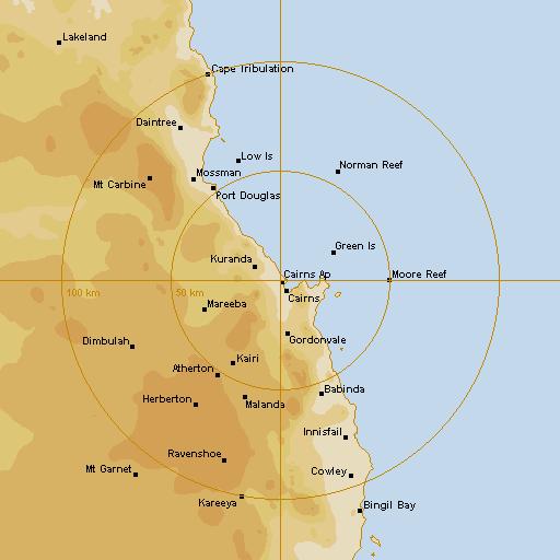 Airport Weather Map.Bom Cairns Airport Radar Loop Rain Rate Idr343