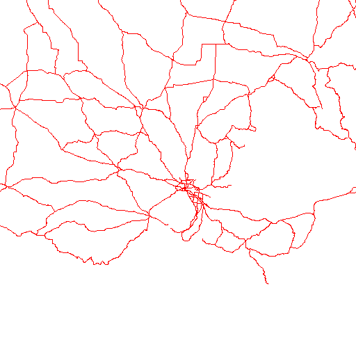Radar roads image