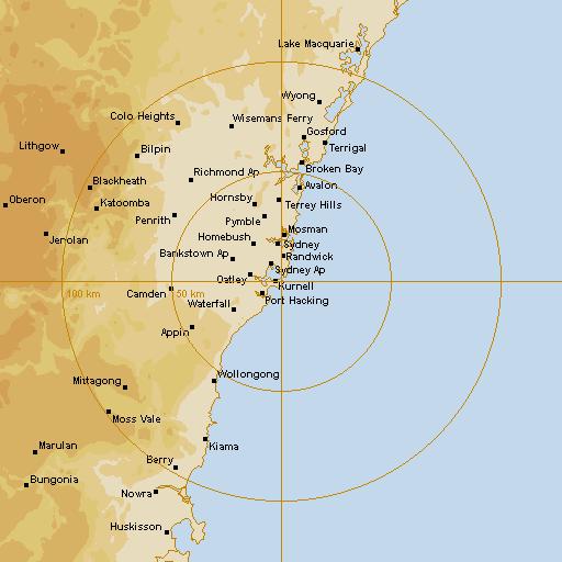 bom radar sydney - photo #8