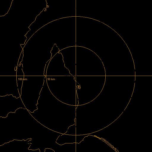 BoM Adelaide Buckland Park Radar Loop Rain Rate IDR643