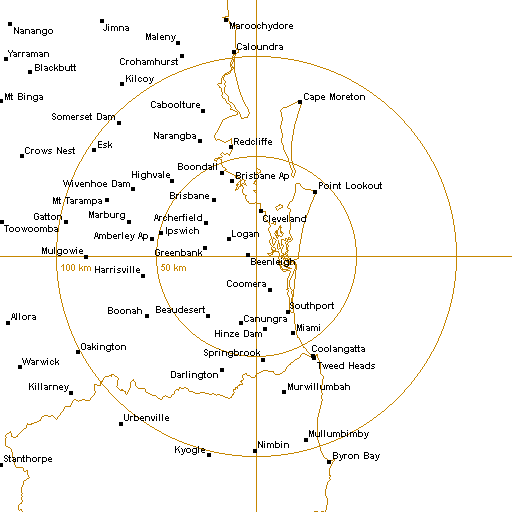 Brisbane Radar Map BoM Brisbane Radar Loop   Rain Rate   IDR663