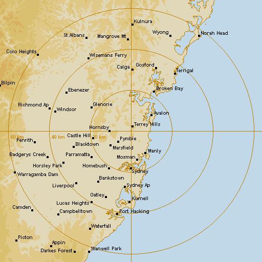 bom radar sydney - photo #1