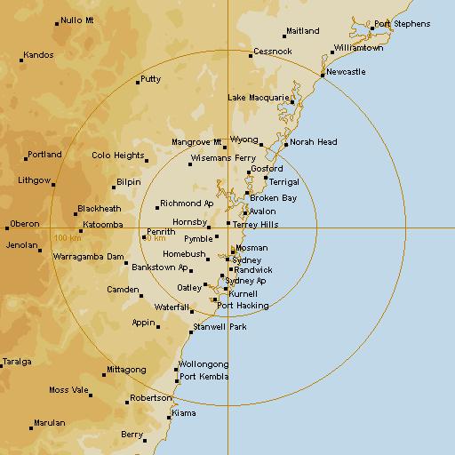 bom radar sydney - photo #3